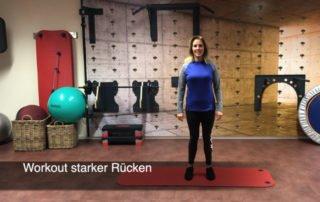Workout - starker Rücken
